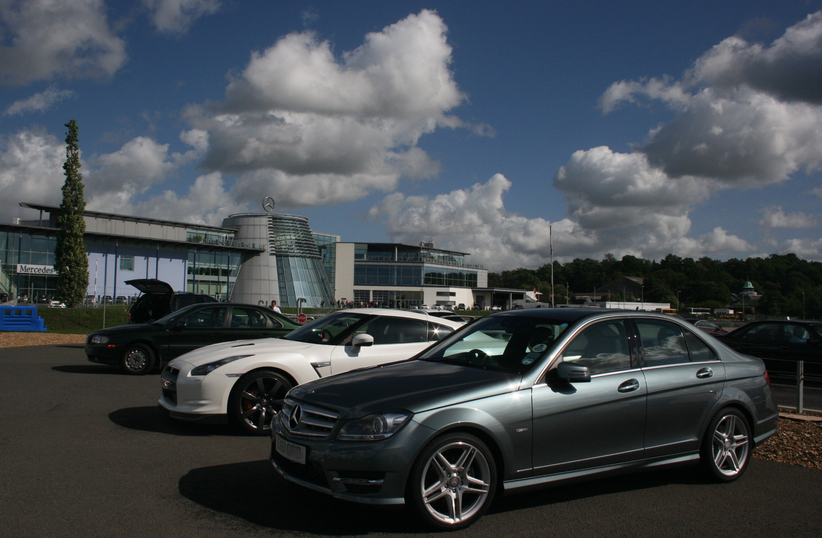 file my new mercedes at mercedes benz world brooklands