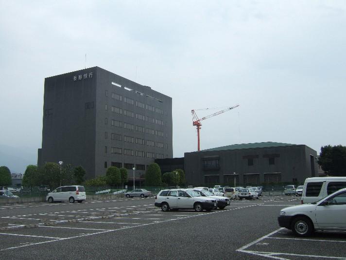 長野銀行の本社