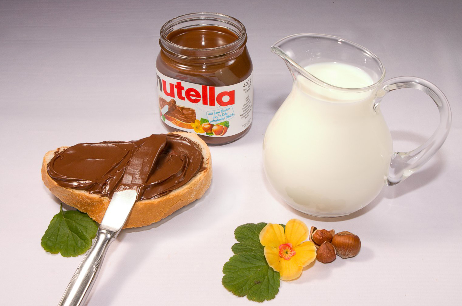 nutella lasts awhile and is delicious