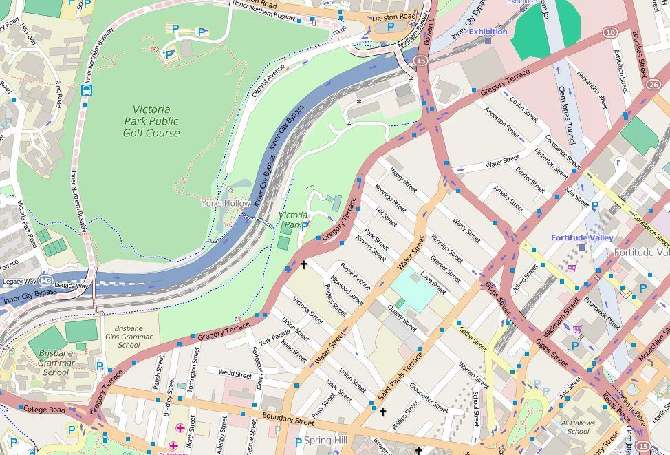 File open street map gregory terrace 2015 jpg for Terrace view map