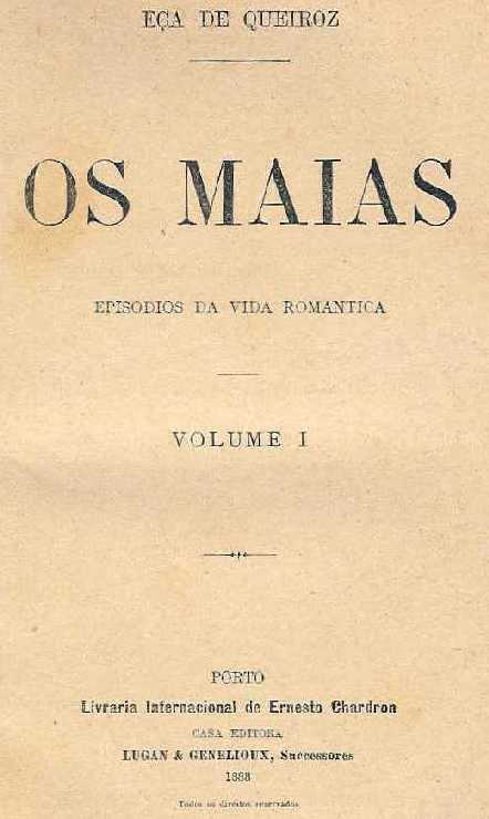 Picture of a book: Os Maias