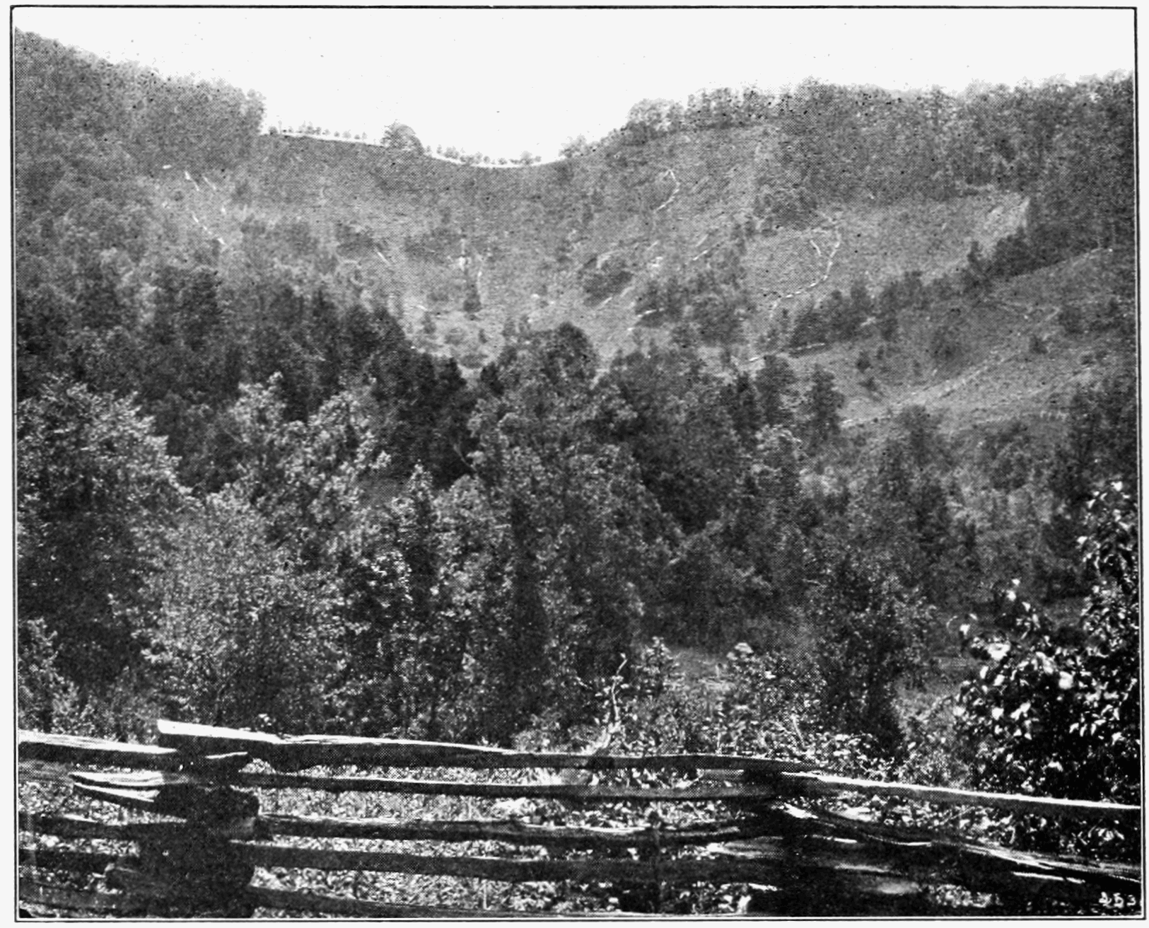 PSM V73 D188 Landslide in a pasture in mitchell county ca may 21 1901.png