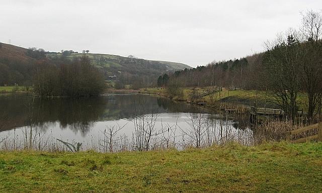 Parc Cwm Darran lake - geograph.org.uk - 1095000