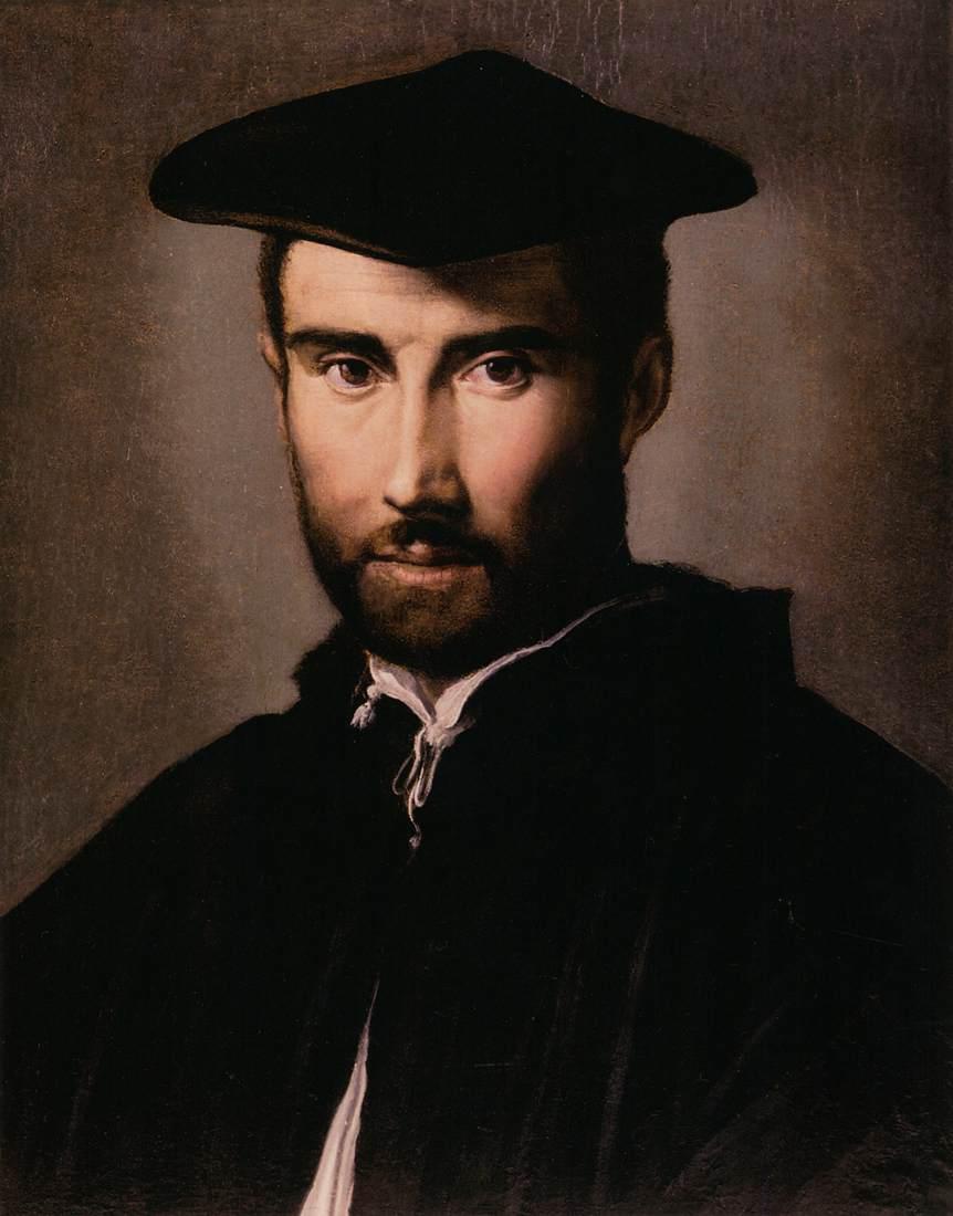 file parmigianino portrait of a man wga17040 jpg wikimedia commons