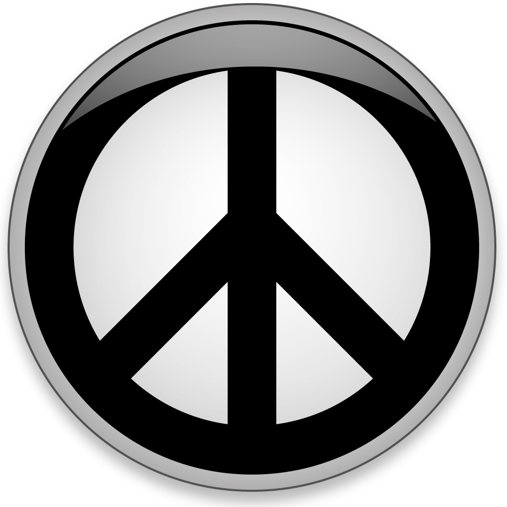 world peace a nuclear disarmament symbol commonly called the peace symbol