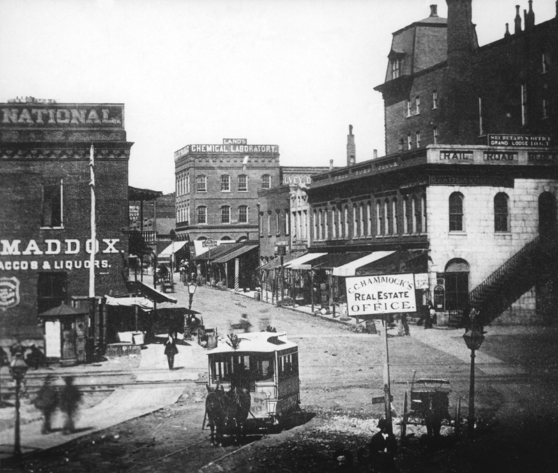 File Peachtree Street 1882 Jpg Wikimedia Commons