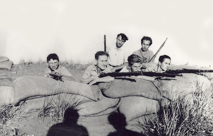 קבוצת נוטרים באימונים