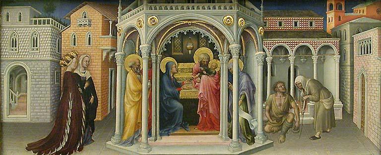 File:Presentazione al Tempio (Gentile da Fabriano) restored, louvre.jpg