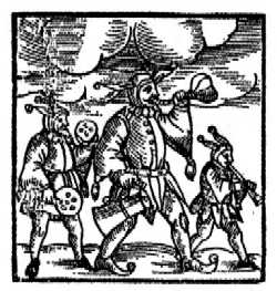 Purimshpiler, Ámsterdam, 1723.