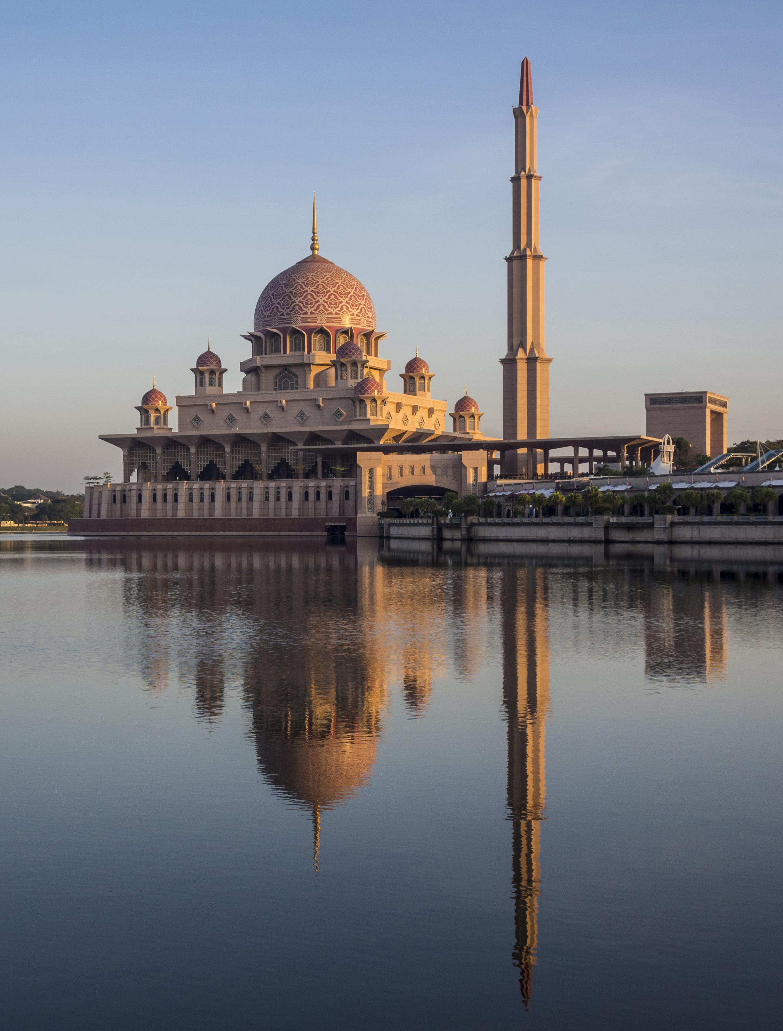 Putra Mosque in Putrajaya.