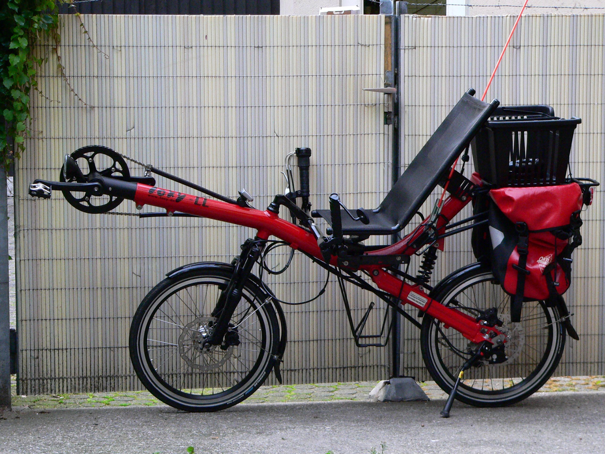 3 Kerekű fekvő bicikli