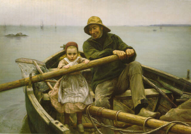Painting Helping Hand By Emile Renouf