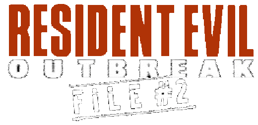 File:Resident evil outbreak 2 logo B.png - Wikimedia Commons