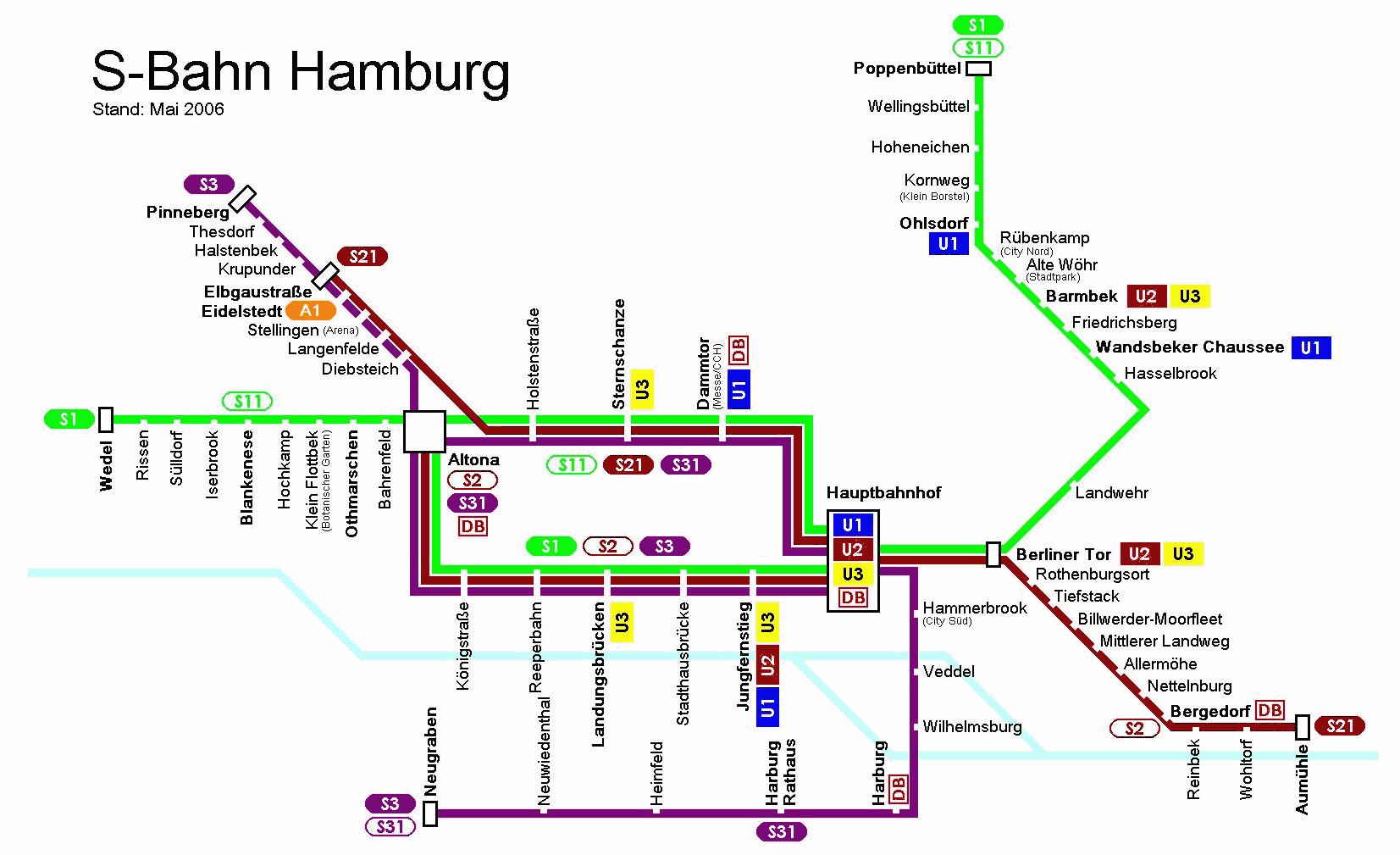 Sbahn Von Hamburg Flughafen Zum Hotel Par
