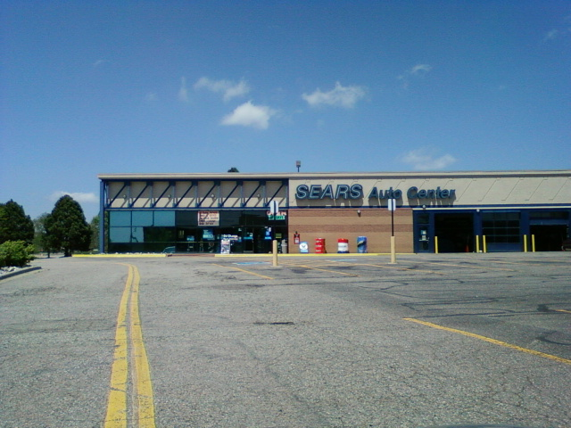 File Sears Auto Center Westminster Mall