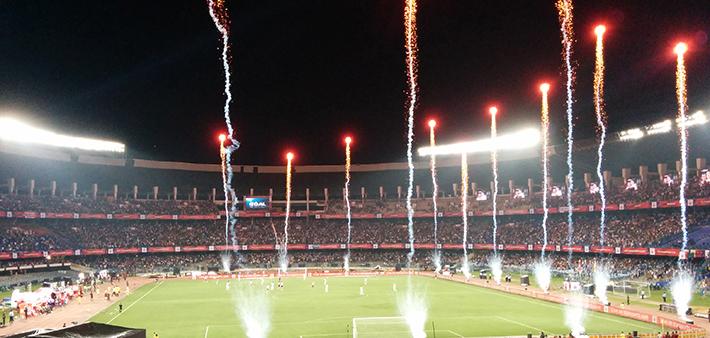 Image result for Salt Lake Stadium, Kolkata, India