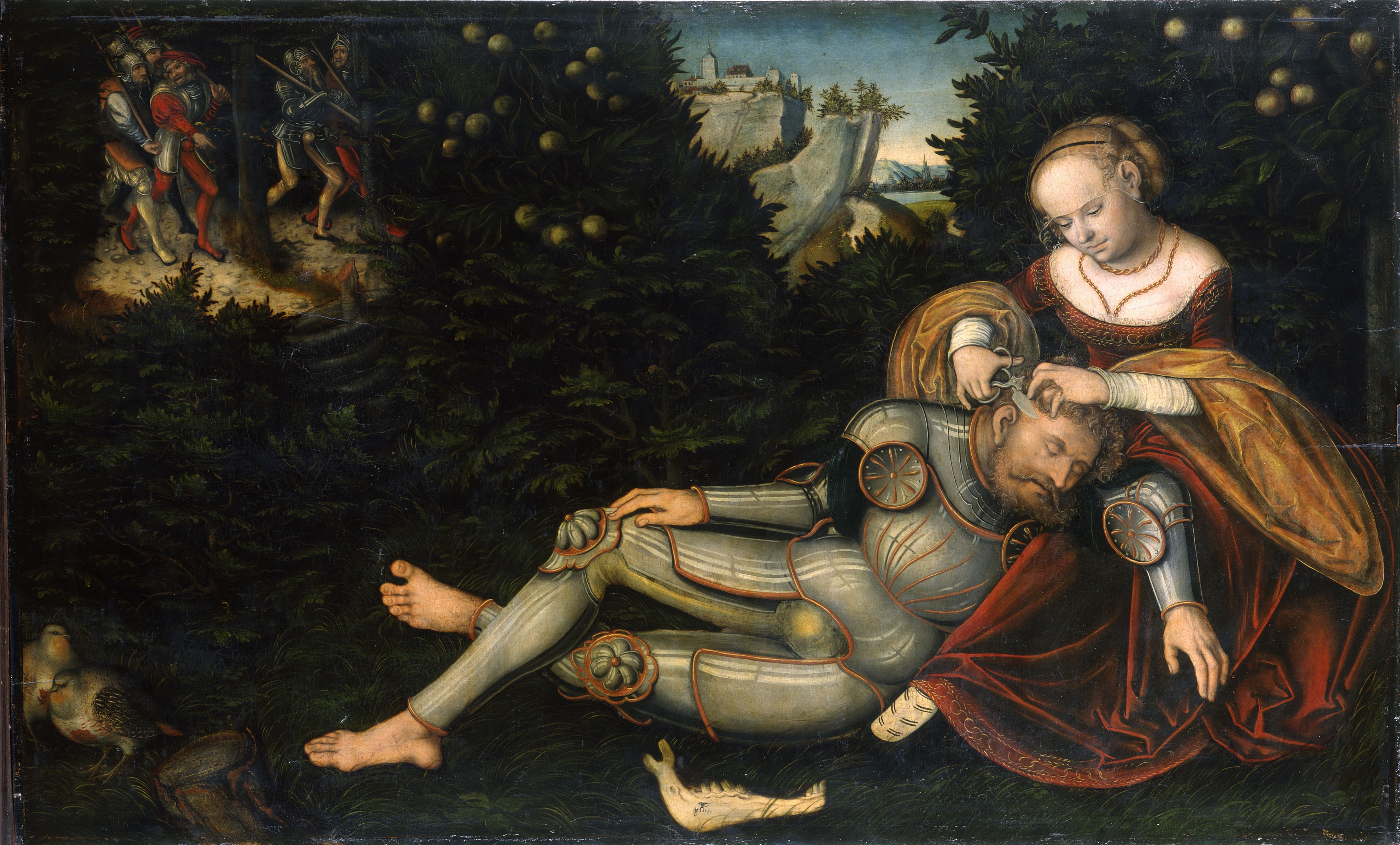 FileSamson And Delilah Cranach The Younger