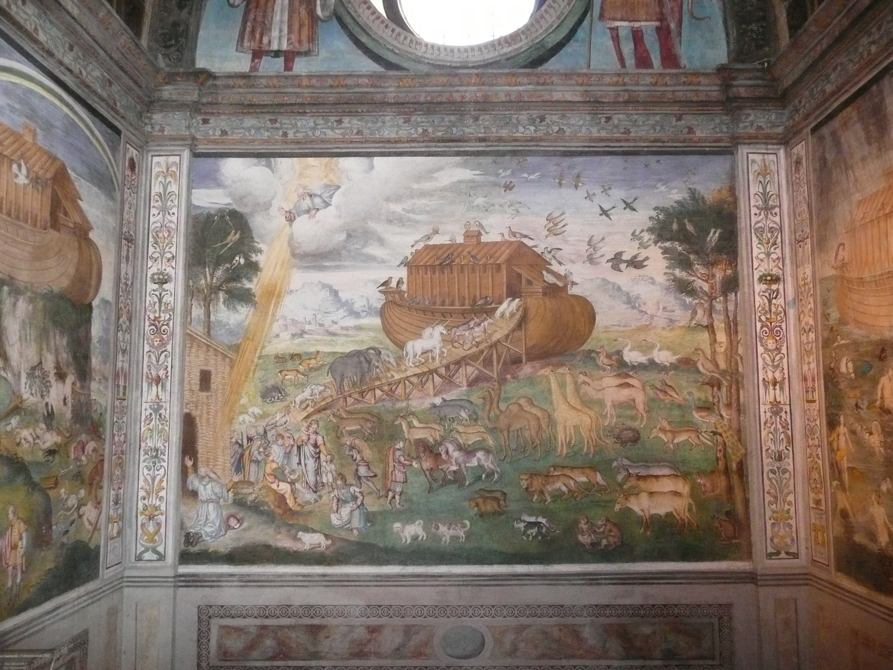 San Maurizio Luini noah's ark.JPG