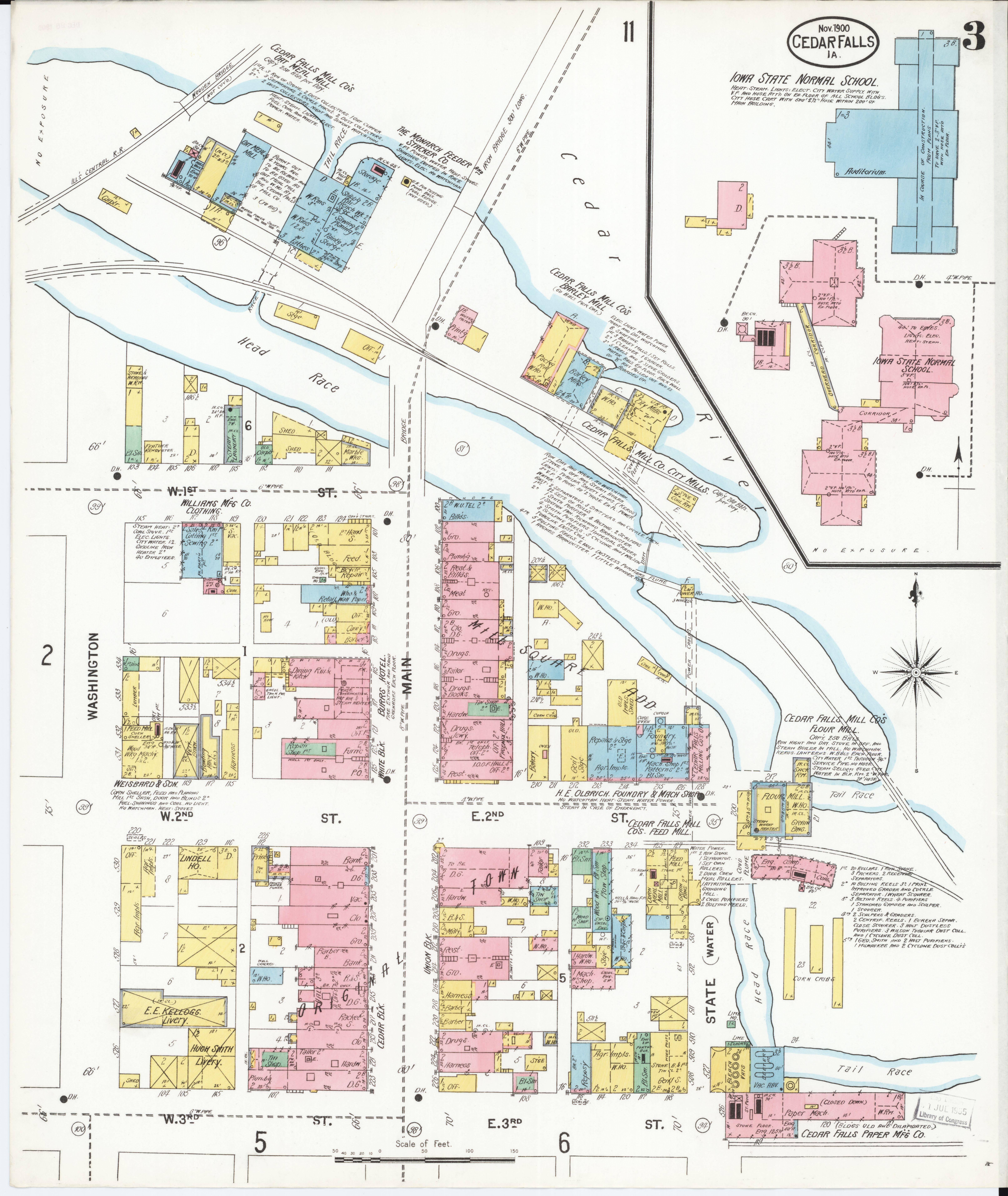 File:Sanborn Fire Insurance Map from Cedar Falls, Black Hawk County on
