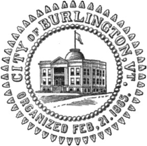 English: Seal of the City of Burlington, Vermo...