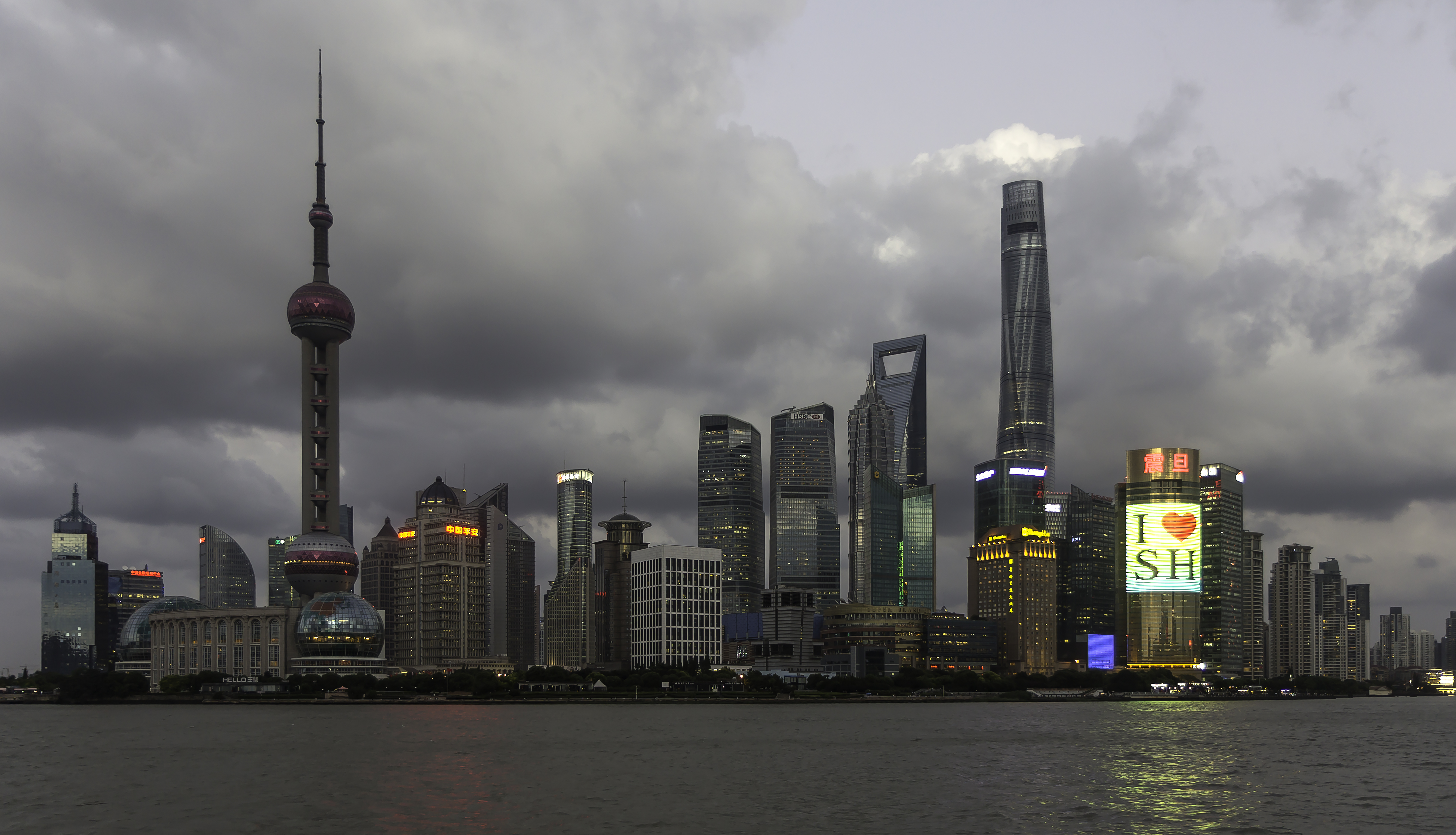 File:Shanghai - Skyline Sunset 0011.jpg