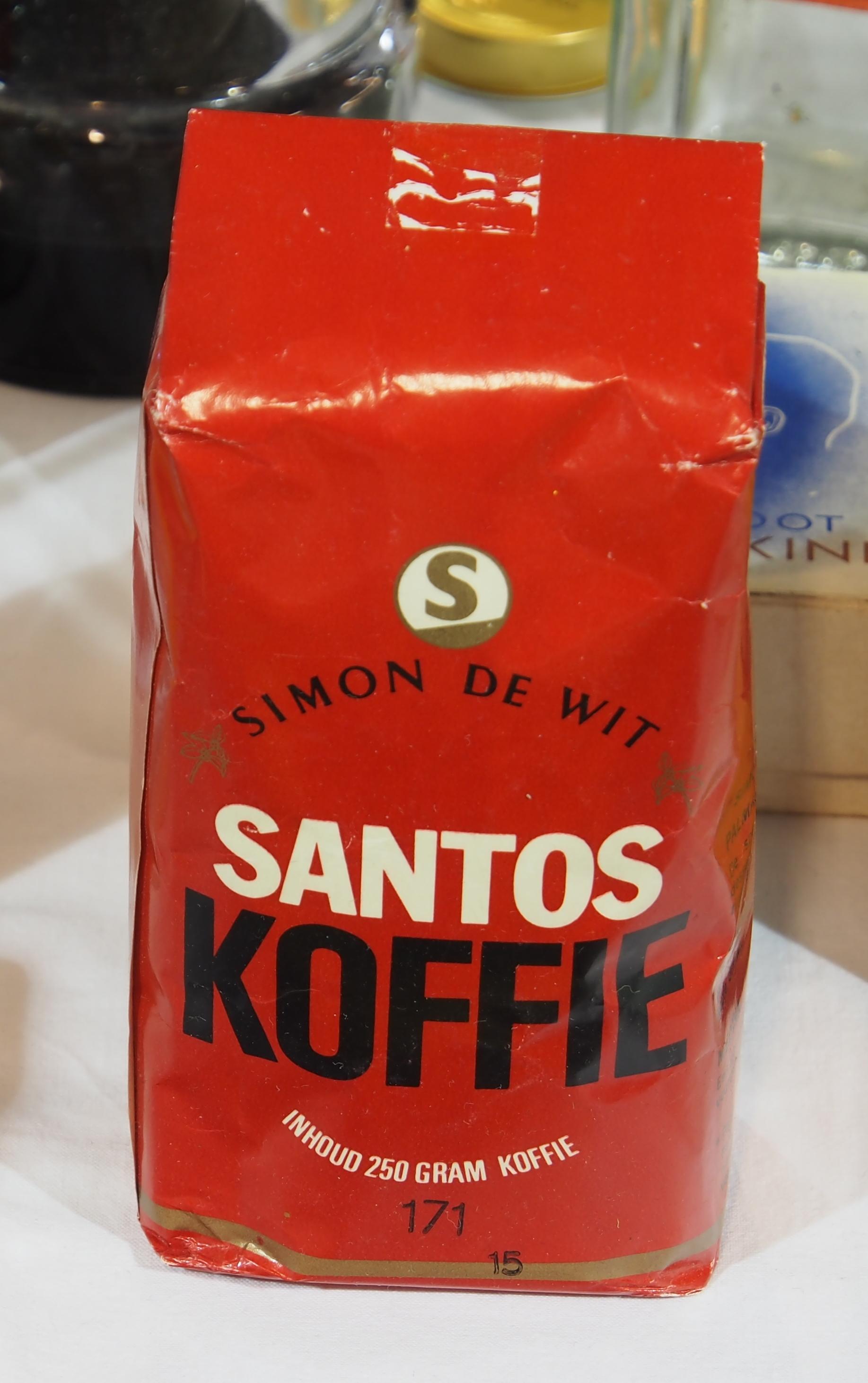santos koffie
