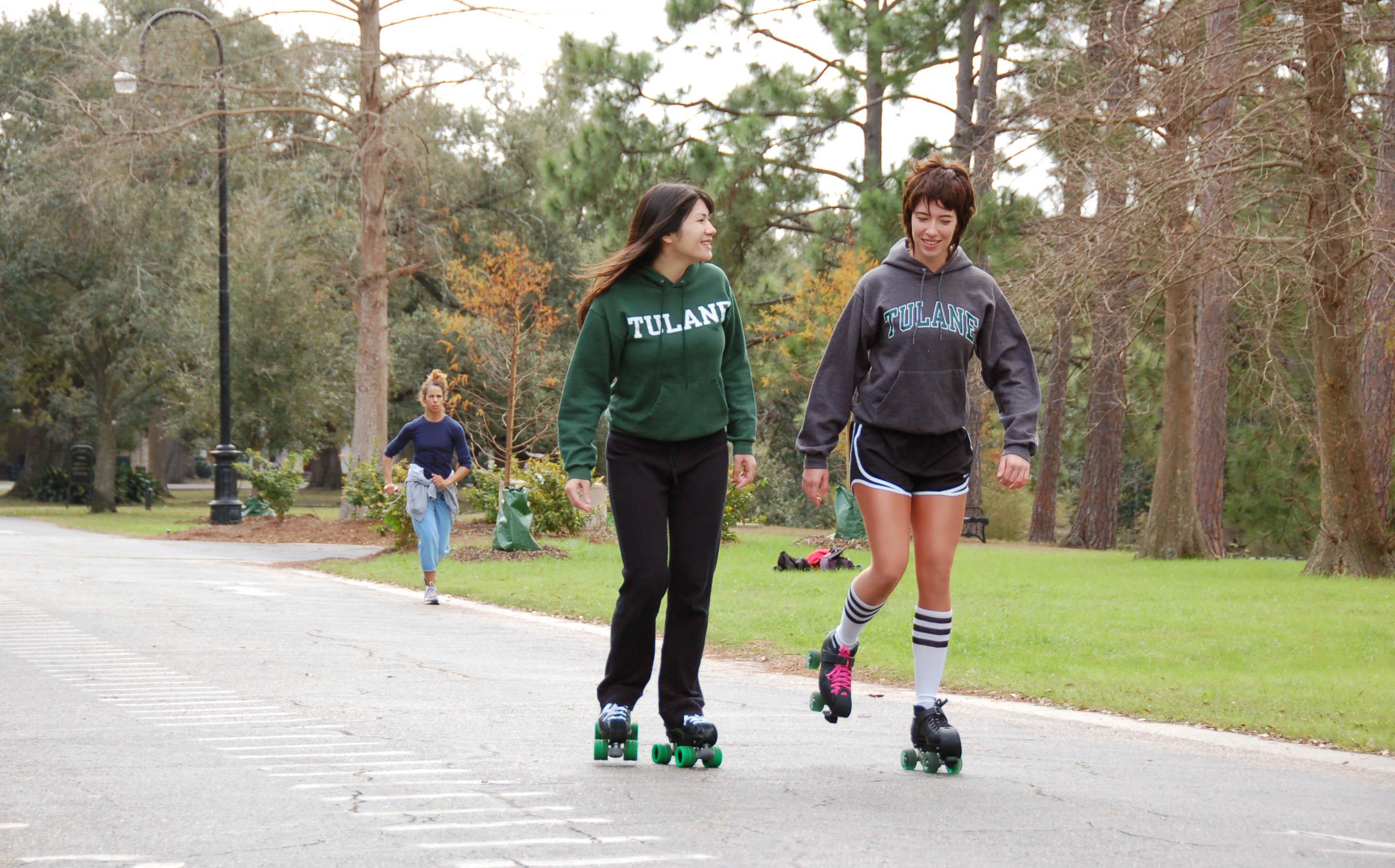 roller skating balance