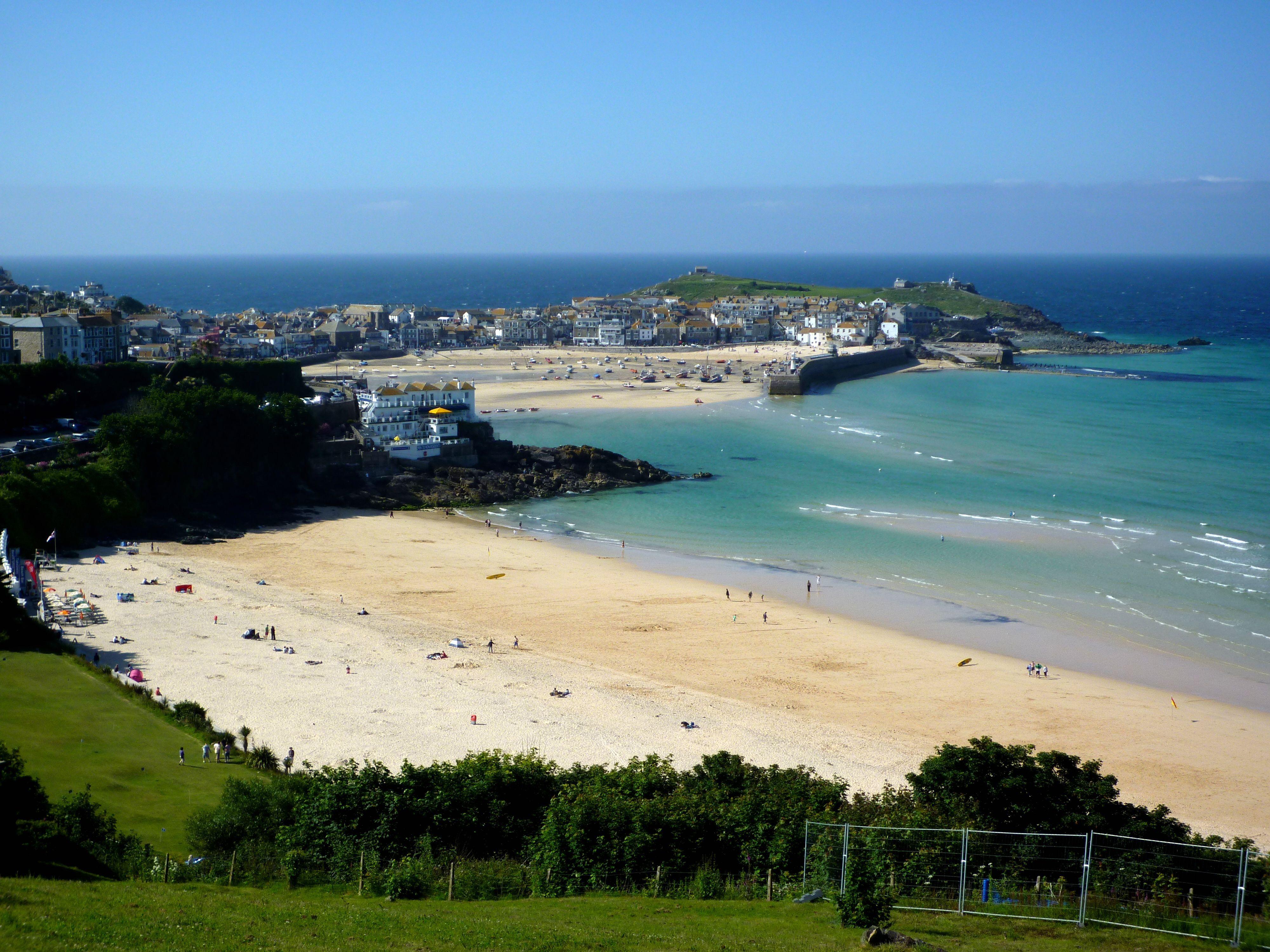 Beach St Ives Sea Level