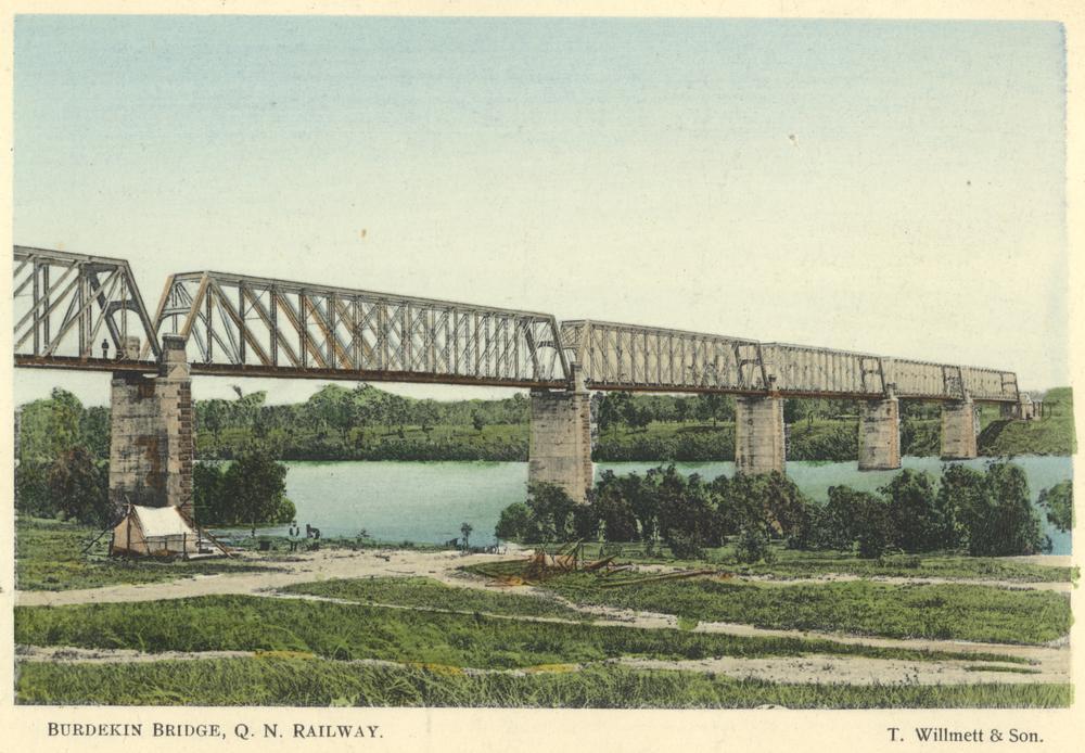 Burdekin Bridge Queensland Burdekin Railway Bridge