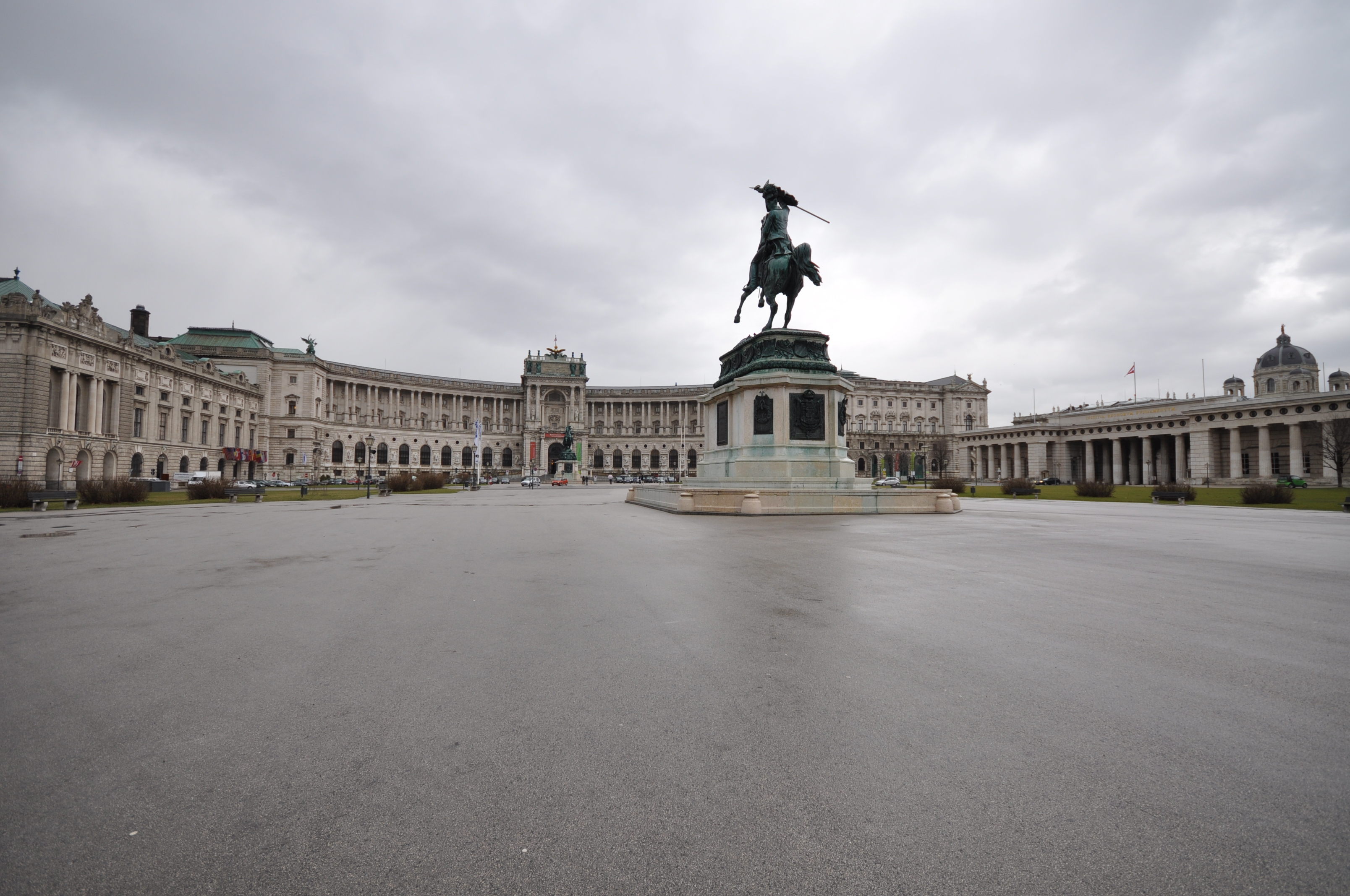 Heldenplatz Picture: File:Statue Of Archduke Charles Of Austria On The