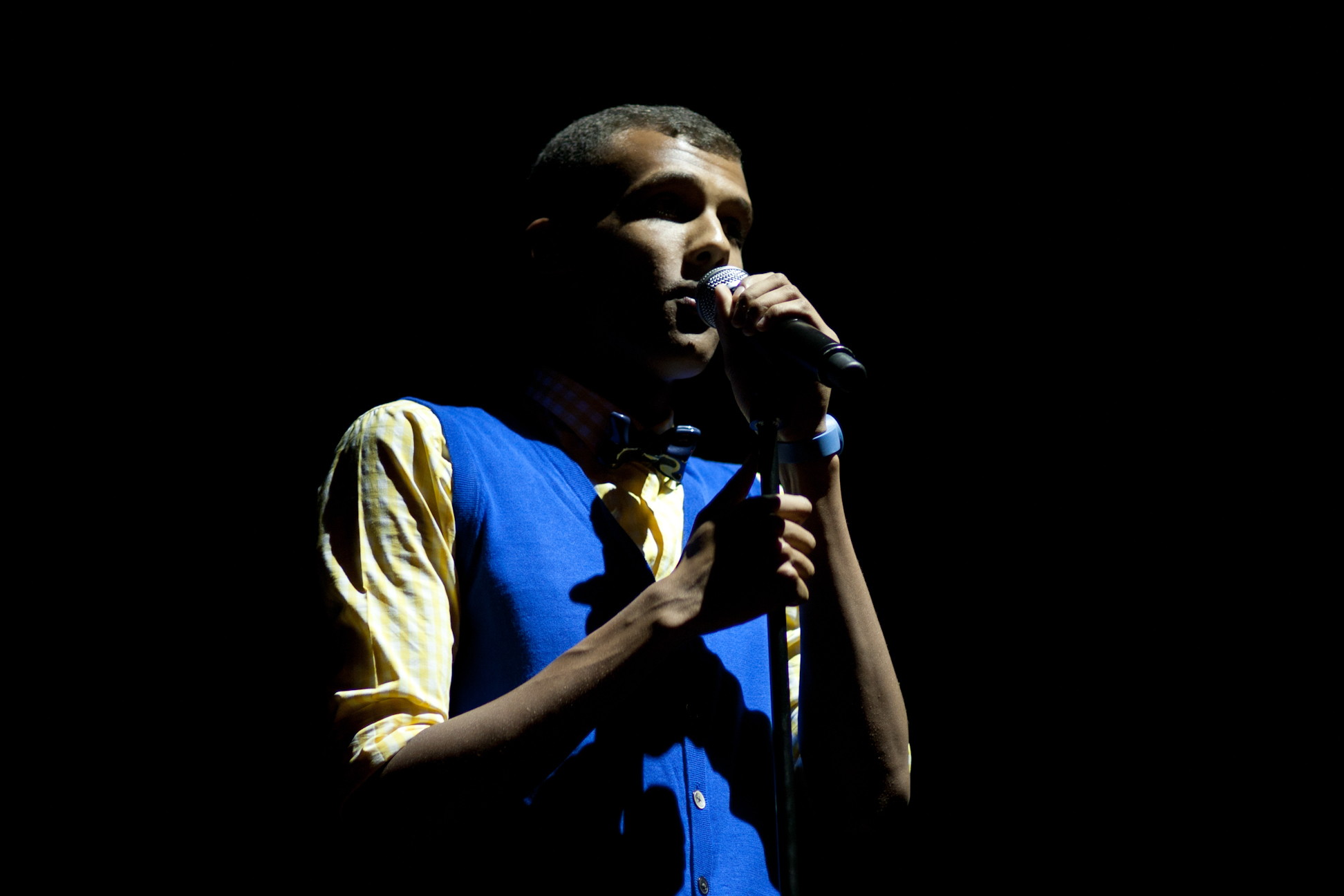 Stromae during Brussels Summer Festival (2011)