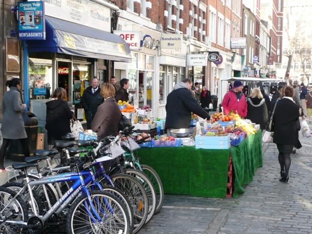 Strutton Ground Market