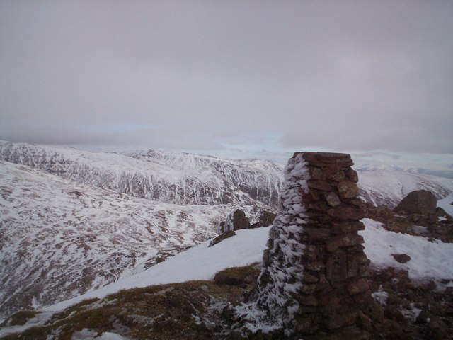Summit of Red Screes - geograph.org.uk - 1164412