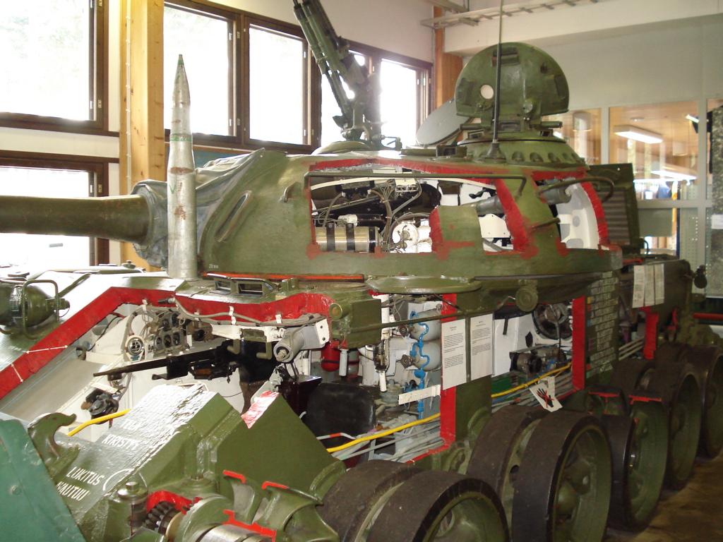 компоновочная схема танка т-80