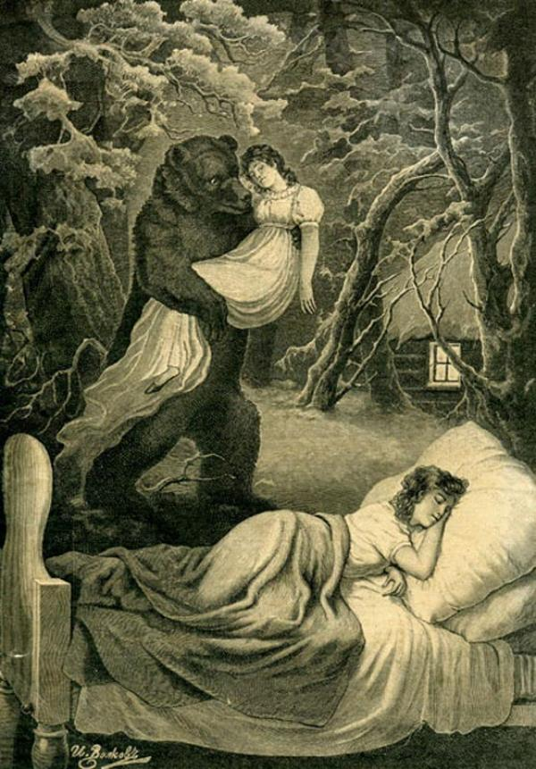 Tatyana Larina'nın Rüyası, Ivan Volkov, 1891