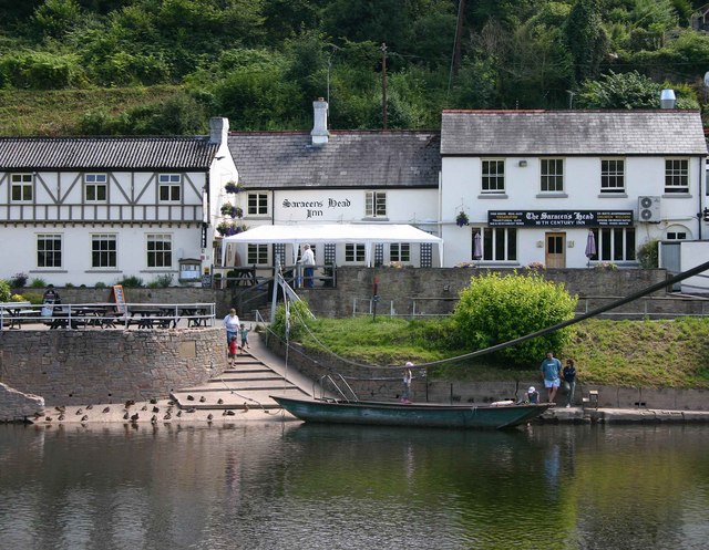 The Saracens Head Inn Ferry at Symonds Yat - geograph.org.uk - 1660379