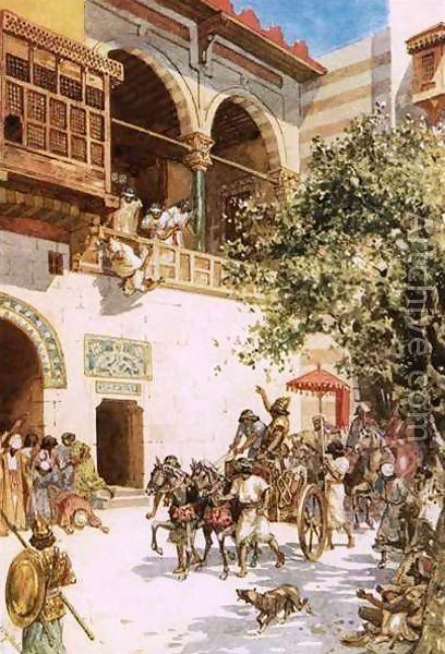 Живописный труп: Царица Иезавель