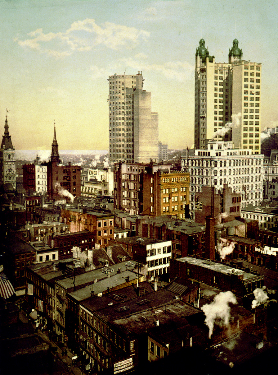 Pictures Of Old Buildings In New York City