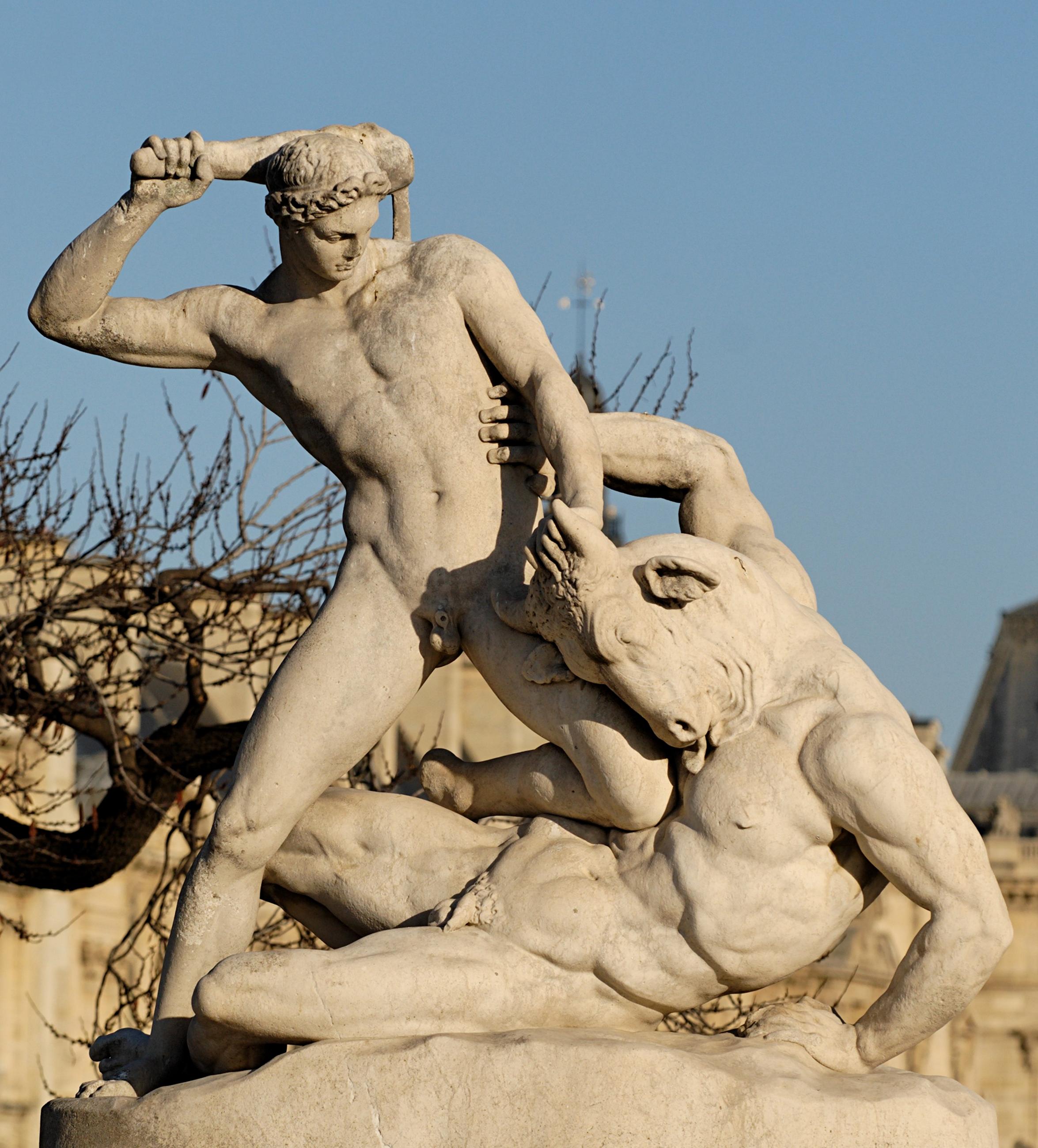 Description Theseus Minotaur Ramey Tuileries.jpg
