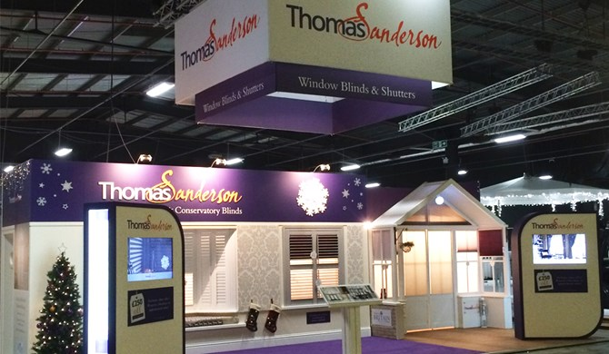 file thomas sanderson stand at the ideal home show manchester jpg