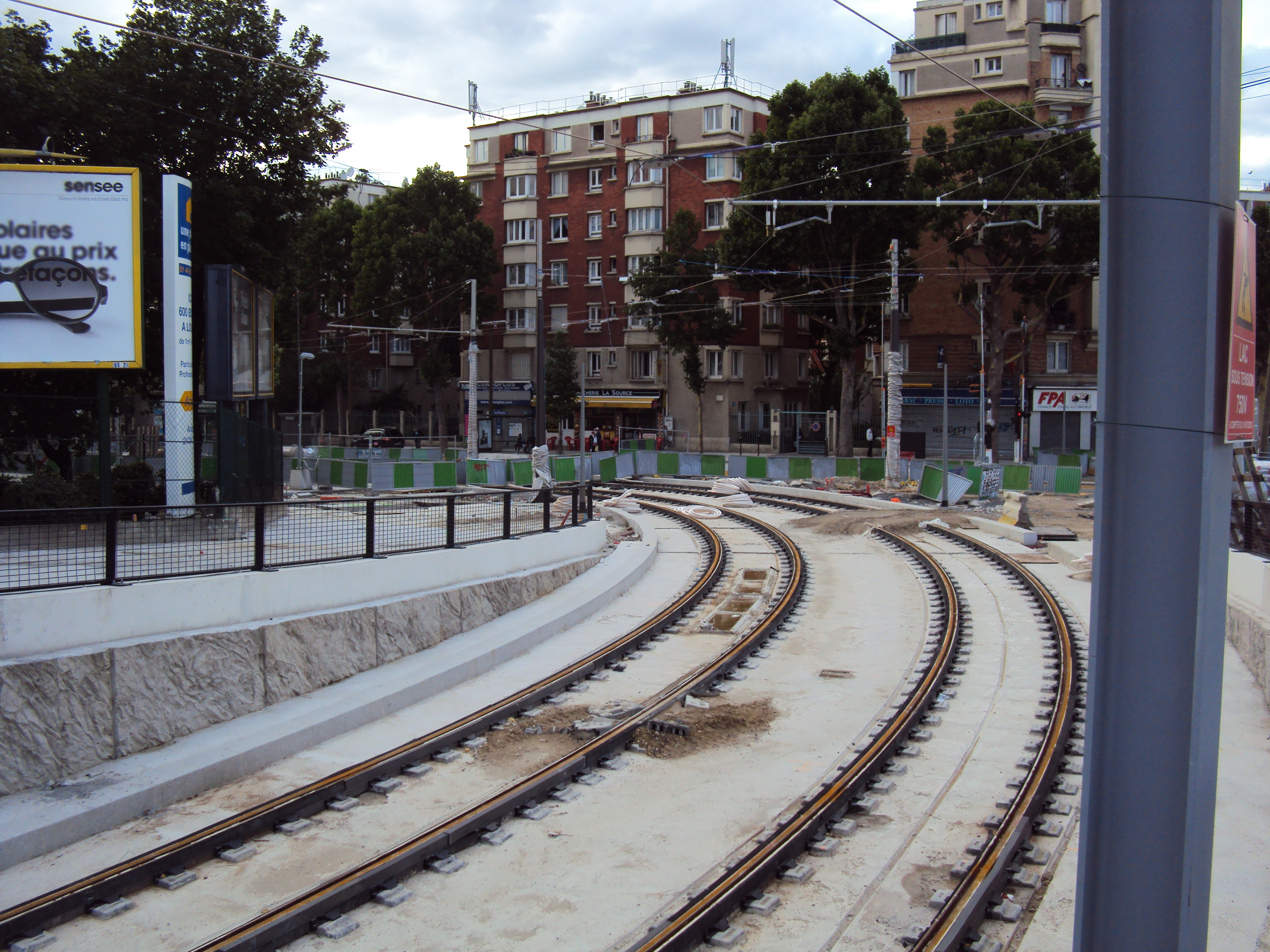 File travaux t3b entre rosa parks et porte d - Porte d aubervilliers plan ...