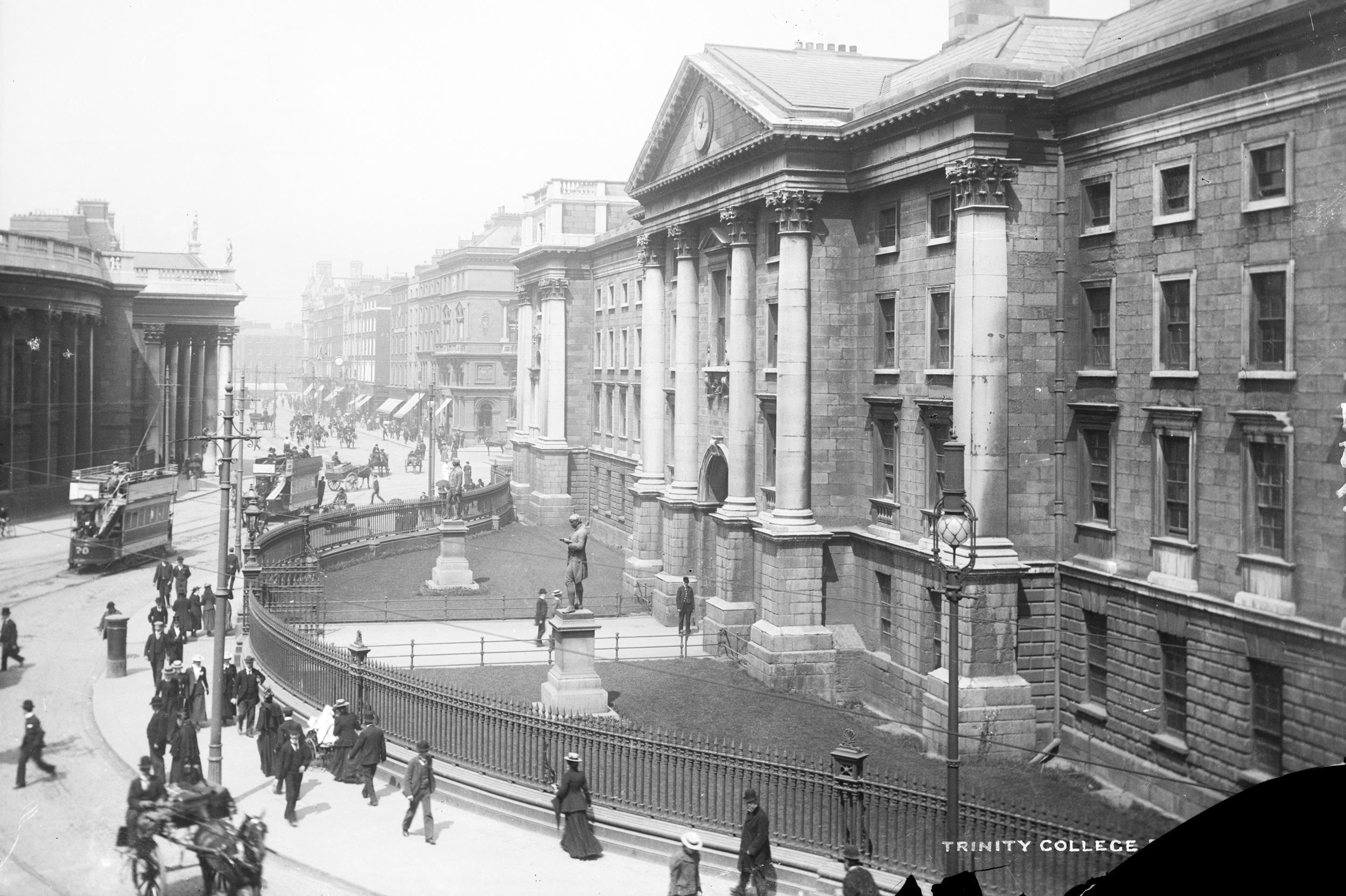 File:Trinity College Dublin, late 19th century (7548442648 ...