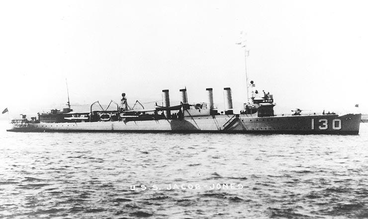 USS Jacob Jones (DD-130)