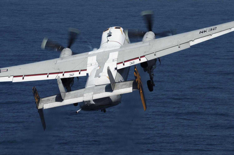 C 2a Greyhound Logistics Aircraft File:US Navy 090917-N-...