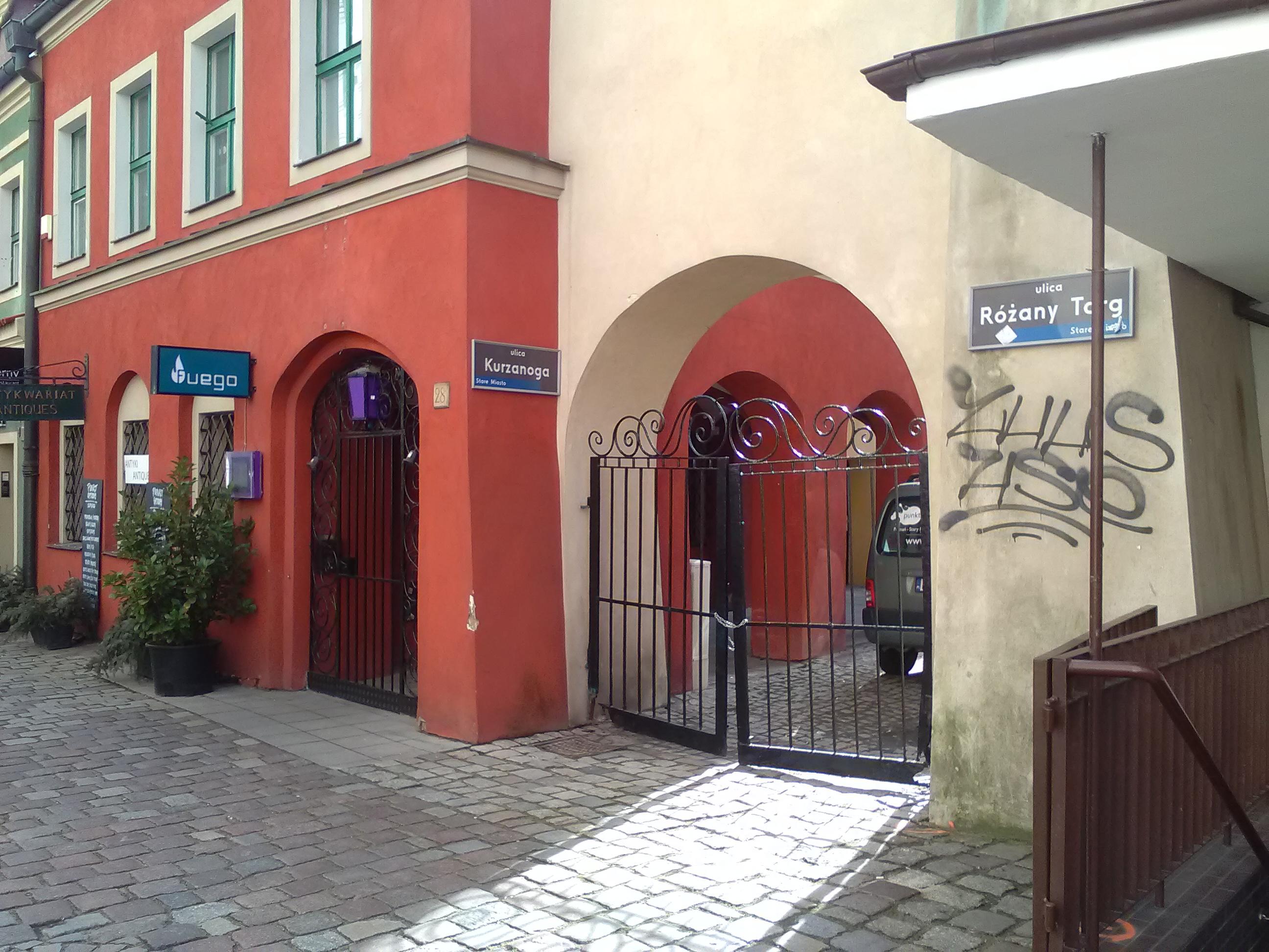 FileUlice Rany Targ I Kurzanoga W Poznaniu