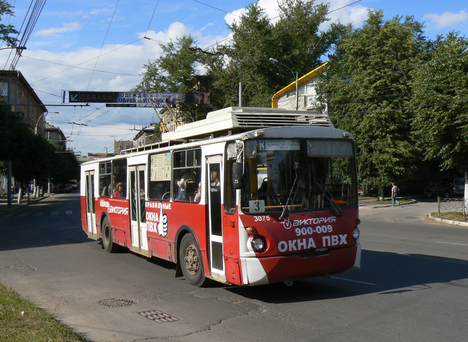 Троллейбус рязани схема