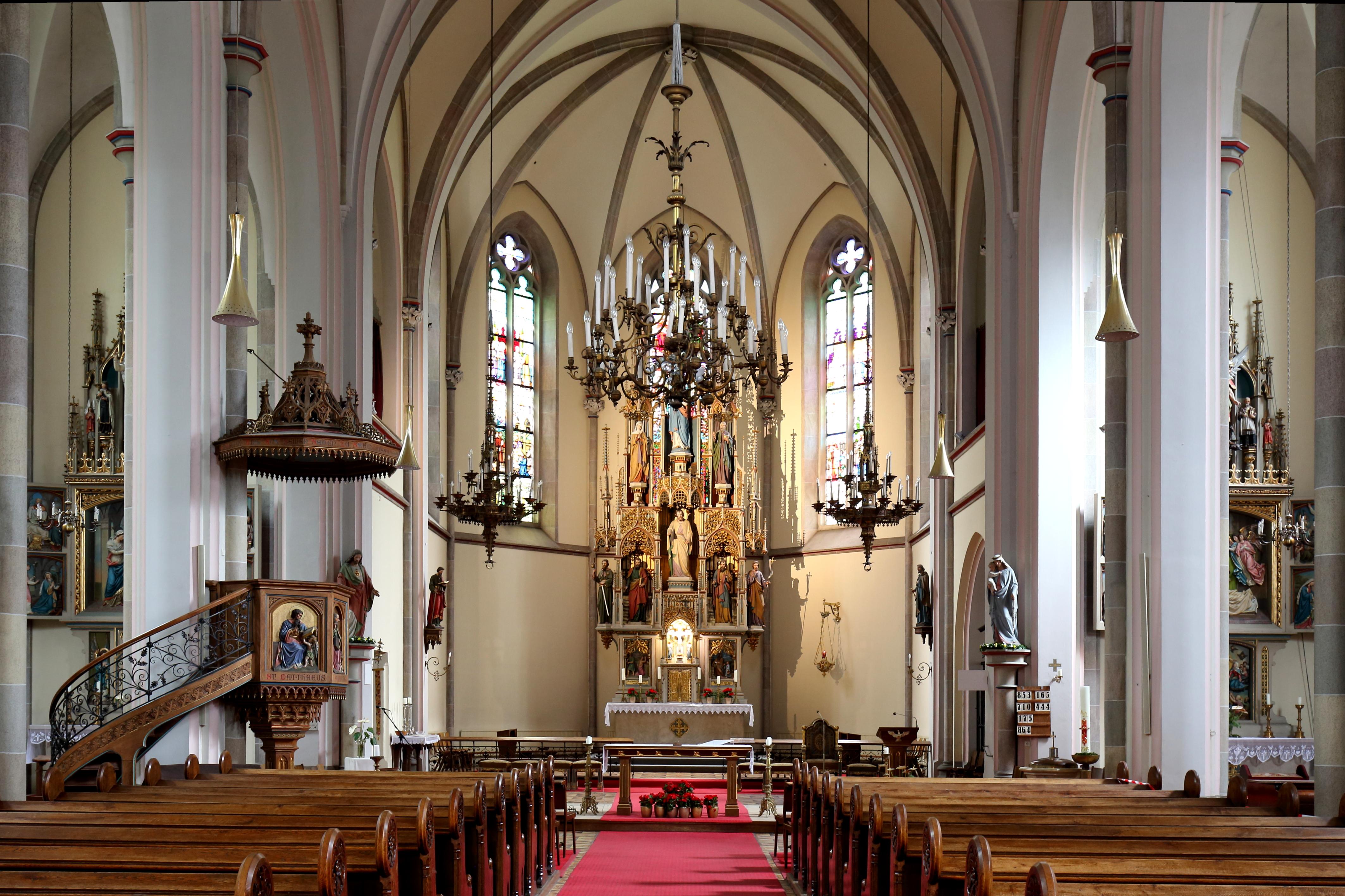 Datei:Währing (Wien)   Weinhauser Pfarrkirche, Innen.JPG