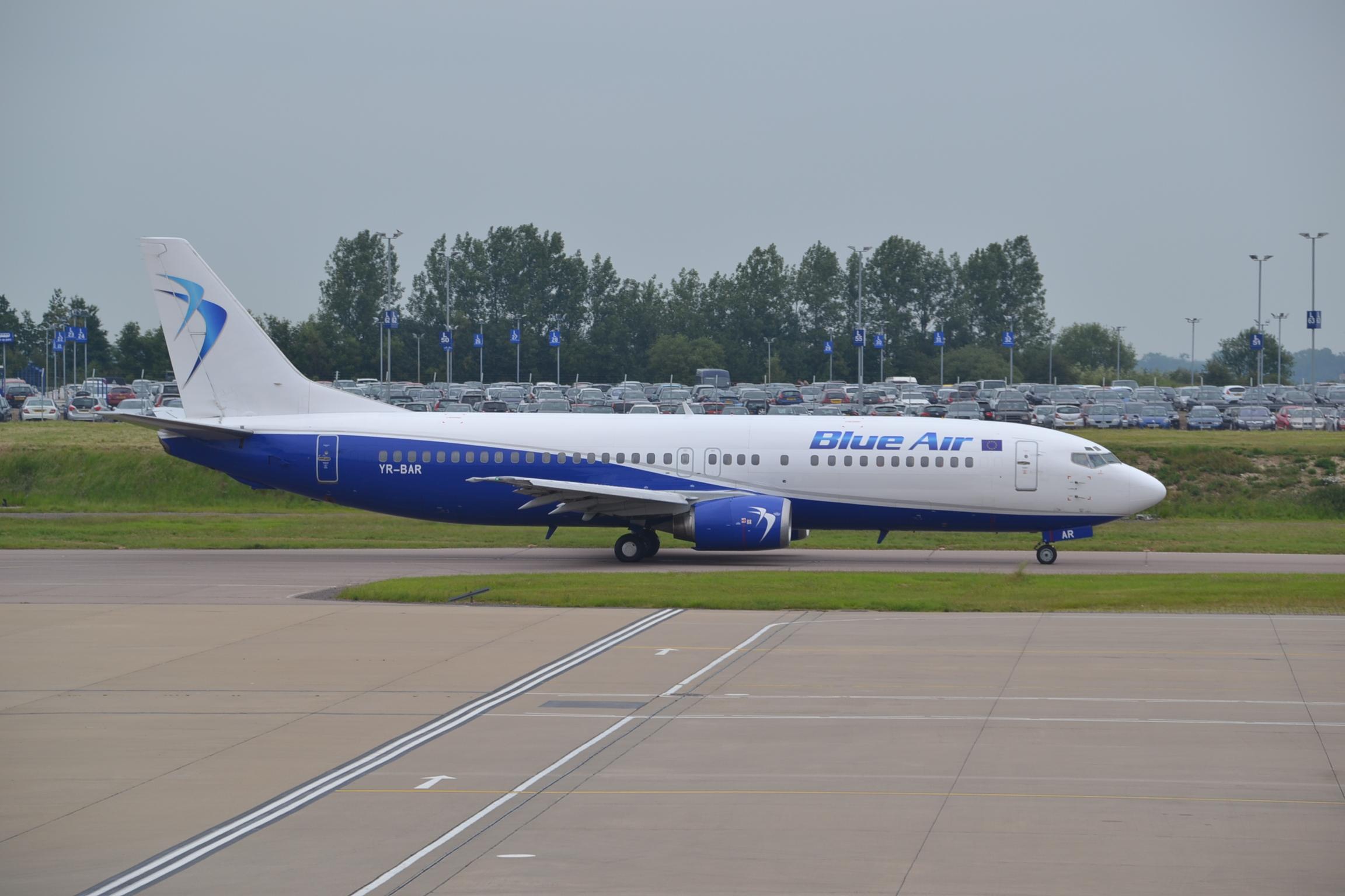 Blue Air Boeing 737 - 400