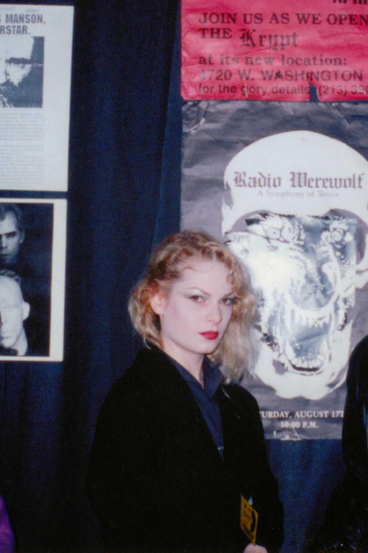 Zeena Schreck as co-director Zeena Galatea Schreck