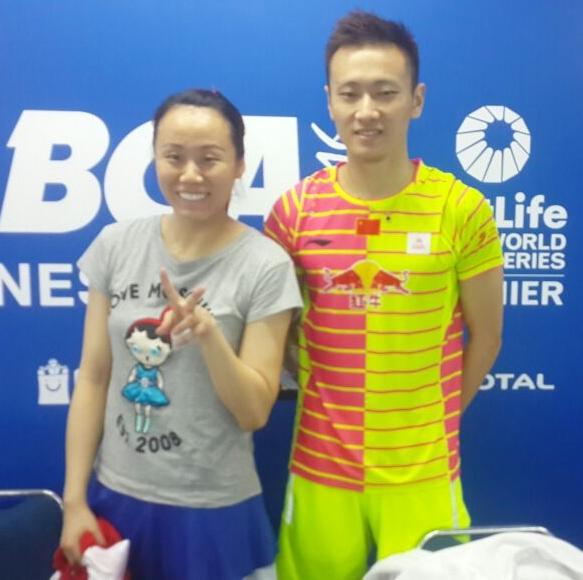 zhang nan badminton